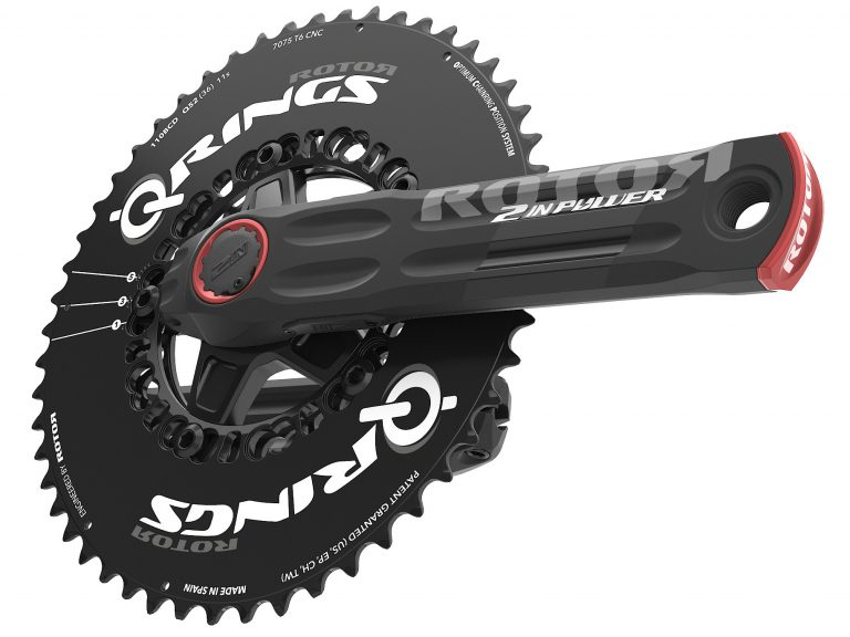Rotor-2INpower_dual-side-power-meter-crankset_driveside-with-Q-rings